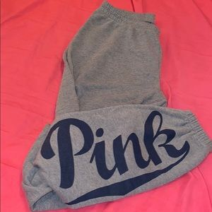 VS PINK sweatpants